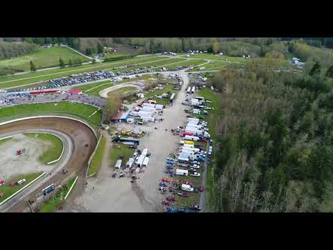 #Drone72 Skagit Speedway Opening Night Drone Video: 4/21/18