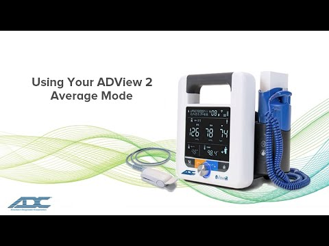 ADView 2:  Using Average Mode (2018)