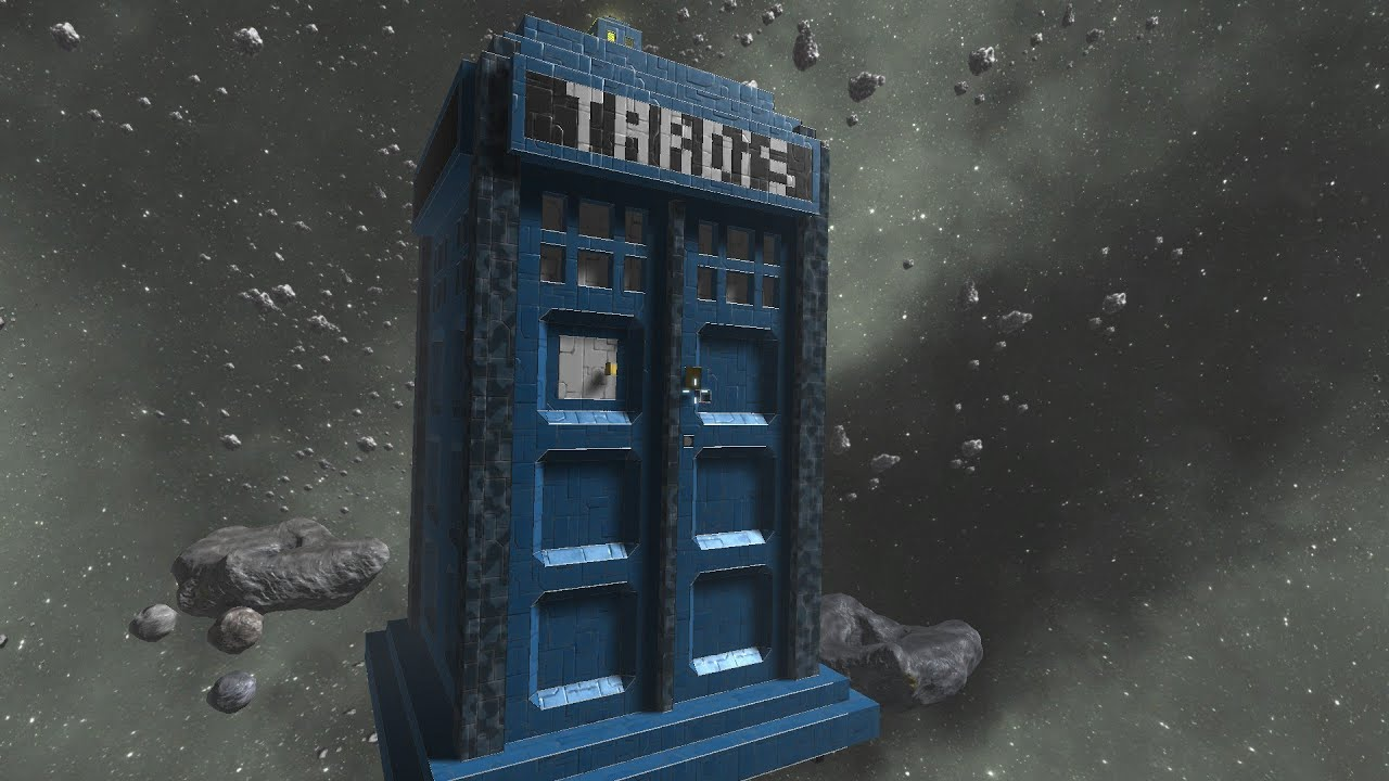 Tardis Wallpaper Hd T A R D I S Doctor Who Space Engineers Youtube
