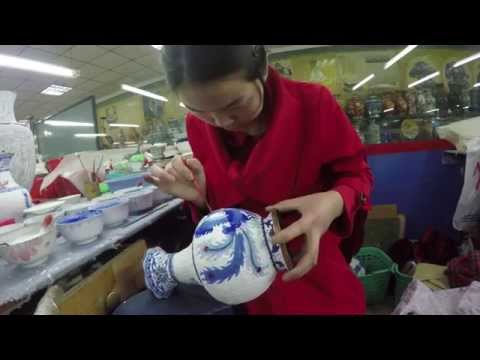 Visiting China - Day 4: Ming Tombs & Factories (2015) - Hales Family
