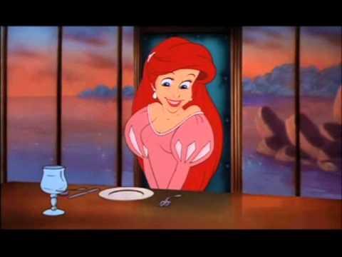 Vestuarios de Ariel en la pelicula La Sirenita
