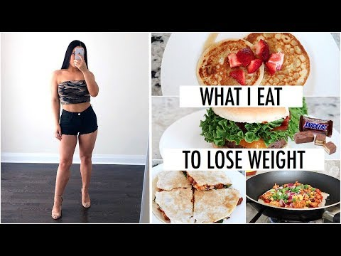 What I Eat In A Day to LOSE WEIGHT - How I Lost 42 Lbs