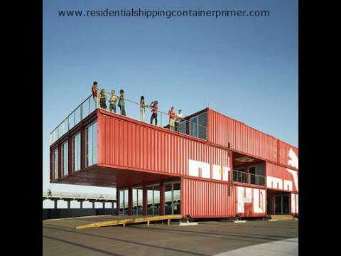 45 ideas  designs, house and office building with containers - Contenedor de oficina en casa