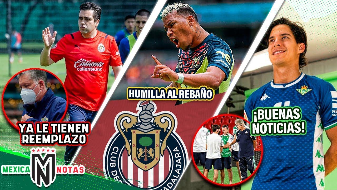 ¡Listo EL SUSTITUTO de Michel Leaño!   ¡Roger HUMILLA a Chivas!   SORPRESA para Diego Laínez