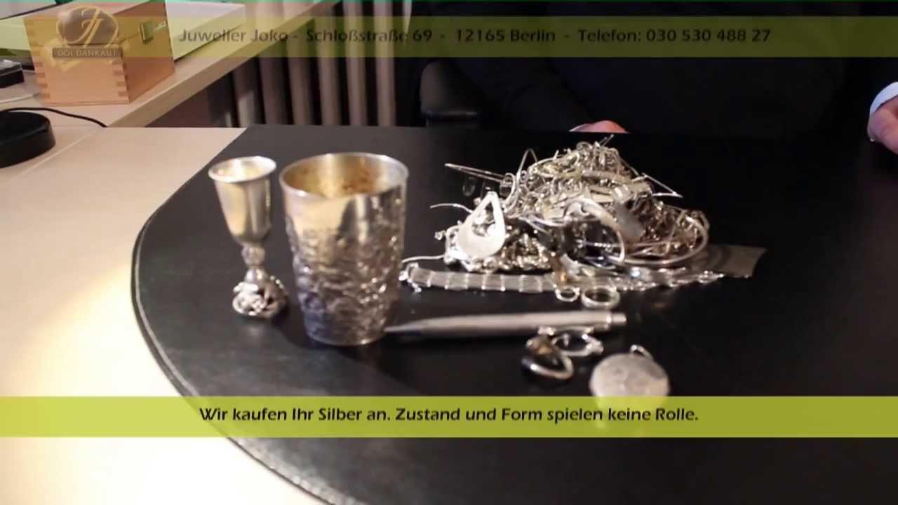 Silberankauf Berlin Juwelier Joko - Goldankauf in Berlin Steglitz Zehlendorf