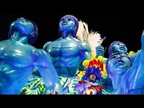 Rio de Janeiro's samba schools compete for Carnival title - no comment