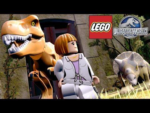 EXPLORANDO A JAULA DO T-REX | LEGO Jurassic World MUNDO ABERTO #2