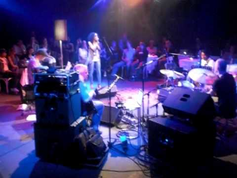 "Gaia Aikman singing "" Never let you down ""  @ Panama Amsterdam 18-4-2010"