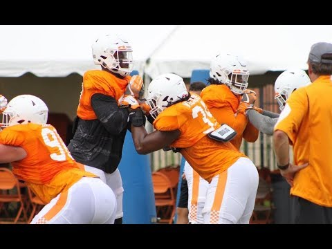 Tennessee Football Fall Practice | 8/11/17