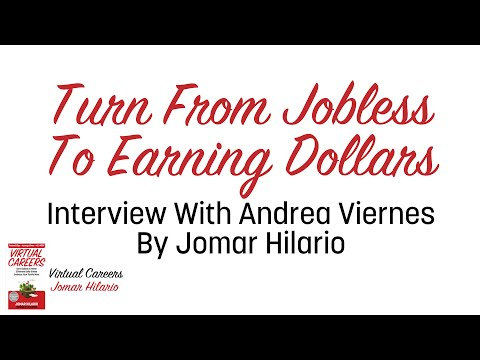 Virtual Assistant Story: Turn From Jobless To Earning Dollars