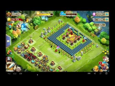 Castle Clash Lady Leo Full Review,thoughts,impressions