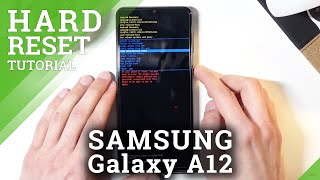 Hard Reset SAMSUNG Galaxy A12 – Bypass Screen Lock / Factory Reset by Recovery Mode screenshot 4