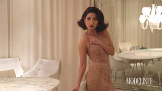 Behind-the-scenes with brenda song