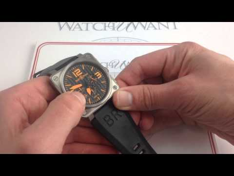 Bell & Ross BR01-94-TO Chronograph Orange Limited Luxury Watch Review