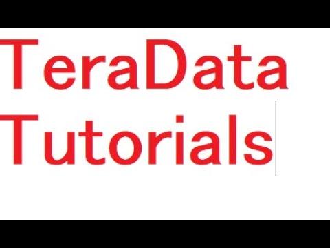 Teradata Online Training | Teradata DBA Online Training | TERADATA ...