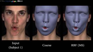 Corrective 3D reconstruction of lips from monocular video, main video, SIGGRAPH Asia 2016