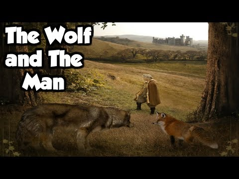 The Wolf and The Man - Grimm Fairy Tale Classics - (Exploring the Grimm Fairy Tales)
