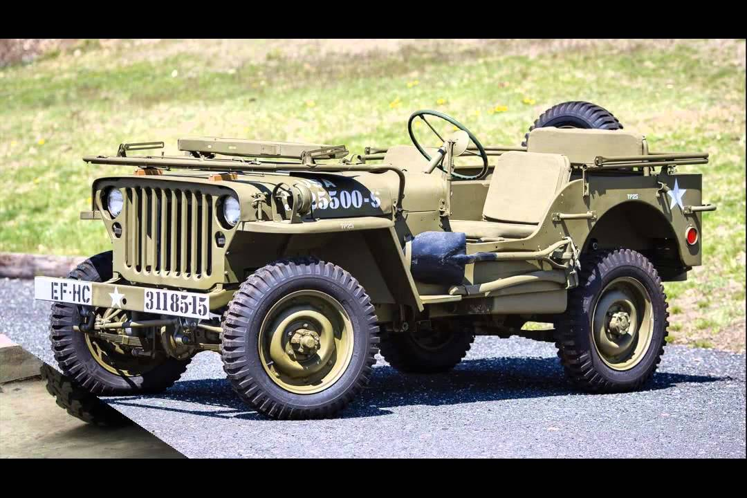 1952 willys jeep youtube. Black Bedroom Furniture Sets. Home Design Ideas