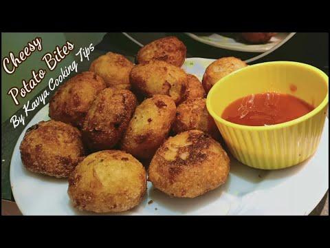 अचानक मेहमान आने पर सिर्फ 10 min मे आलू और सूजी से बनाये टेस्टी नाश्ता   Instant potato Bites Recipe