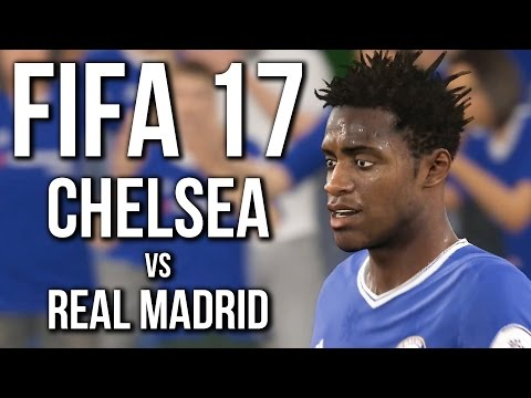 Fifa 17 Gameplay - Chelsea Vs Real Madrid (no commentary)