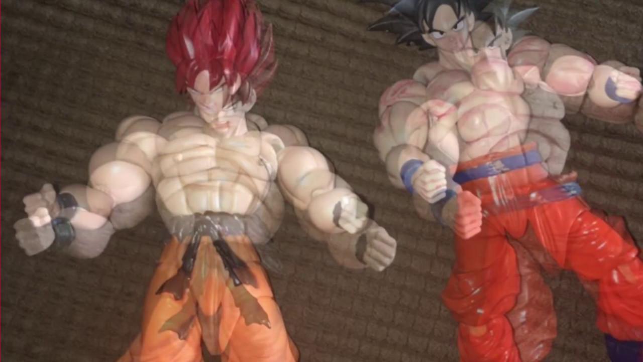 Sh Figuarts Dragonball Z Custom Goku And Namek Saiyan Armor