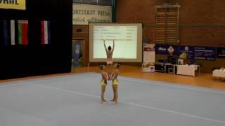 Sachsenpokal 2016   040   027   Women's Group   Junior 1   Dynamic   GER   Oldenburger Turnerbund GE