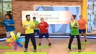 Веселая тренировка с Эктором Хименесом-Браво - Дневник похудения с Анитой Луценко - 12-я тренировка