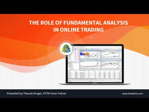 The Role of Fundamental Analysis in Online Trading | 15.05.2019