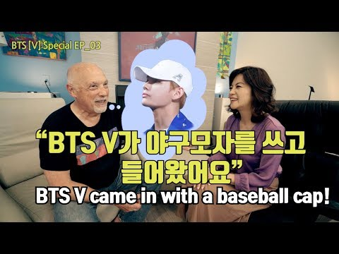 [ENG]BTS V가 화가를 만났을때?! 비하인드 스토리 대공개! Behind the scenes of the gallery BTS V visited