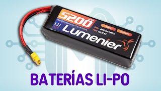Todo sobre baterías Li-Po | Usos, carga, cuidados, etc