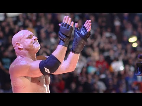 Goldberg's emotional goodbye to the WWE Universe WWE Network Exclusive