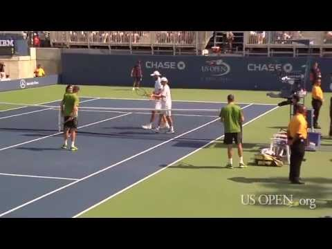 2011 US Open: Welcome To Court 17