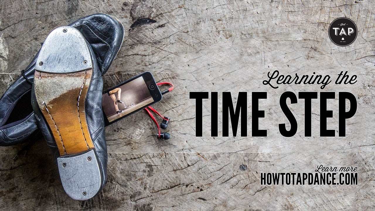 How to TAP DANCE - Learning the 'Time Step'