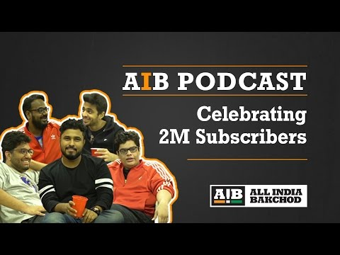 AIB Podcast : 2 Million Celebration Podcast