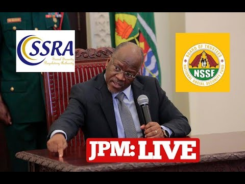 BREAKING: Rais Magufuli akutana na Vigogo wa TUCTA, NSSF, PSSSF NA SSRA - Ikulu DSM