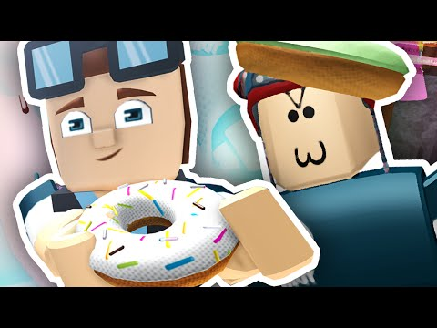 Thumbnail: DONUT FACTORY TYCOON!! | Roblox