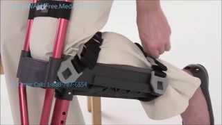 iWalk Crutch Alternative to Crutches vs steerable knee walk