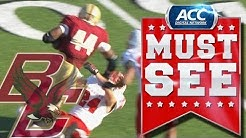 ACC Must See Moment | BC RB Andre Williams Trucks NC State Defender | ACCDigitalNetwork