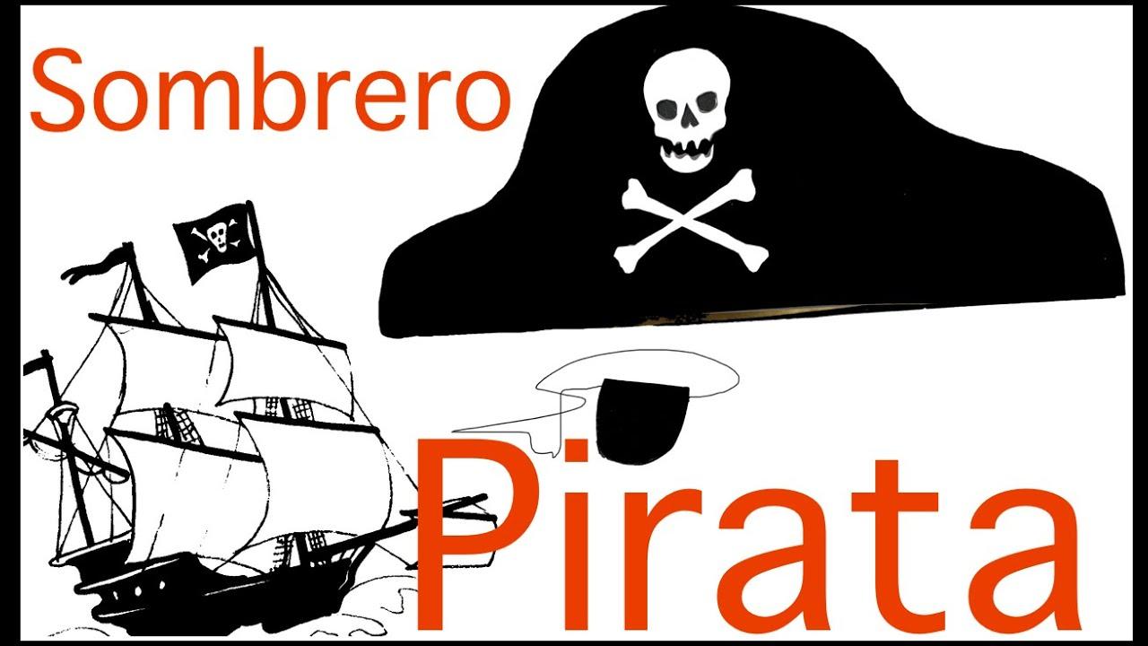 Disfraces caseros: Cómo hacer sombrero pirata y parche con fomy ...