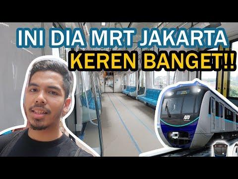 nyobain MRT Jakarta untuk pertama kali!