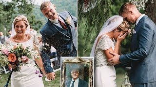 The Bride Bows Her Head To Pray! Then She Hears Another Voice