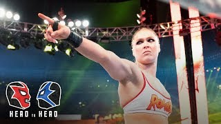 Should Ronda Rousey return to WWE?: WWE Head to Head