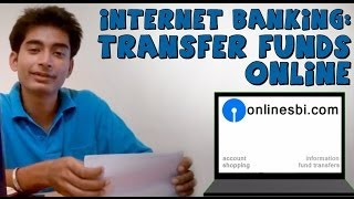 Sbi online banking (Part 2) Transfer money to other bank account