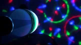 3w e27 full color rgb led auto rotating lamp crystal stage dj party light bulb 85 260v