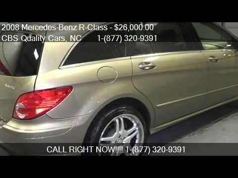 2008 mercedes benz r class 4matic for sale in durham nc for Mercedes benz durham nc