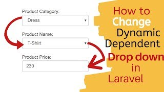Laravel 5.3 Multi Dynamic Drop down change  from database with Ajax