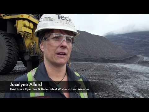Coal Mining in BC: Jocelyne Allard, Haul Truck Operator, USW