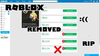 Roblox BC Robux Buying Bonus Changed and 22k R$ Buy Option Removed I Roblox Random Talk Ep.21