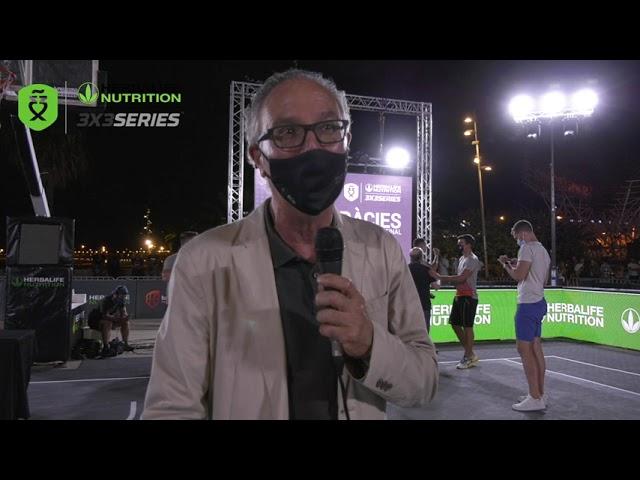 Gabriel Arranz, director promoción y eventos deportivos Ayto. de Barcelona, Máster Final Barcelona