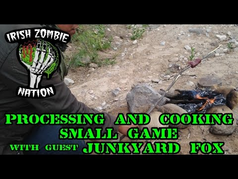 Processing and Cooking Small Game with James Harris of Junkyard Fox